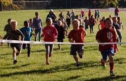 Kids racing for fundraising